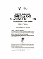 Easy to Duplicate Holiday and Seasonal Borders PDF
