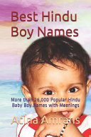 Best Hindu Boy Names PDF