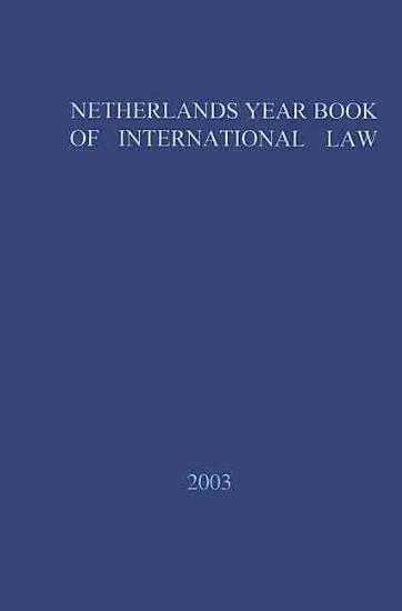 Netherlands Yearbook of International Law   2002 PDF