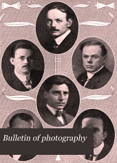 Bulletin of Photography: Volume 11