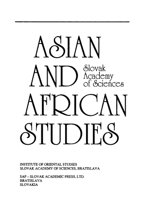 Asian and African Studies PDF