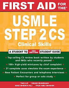 First Aid for the   USMLE Step 2 CS Book