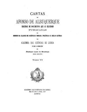 Cartas de Affonso de Albuquerque PDF