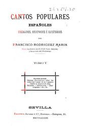 Cantos populares españoles: Volumen 5