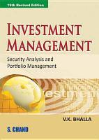 Investment Management PDF