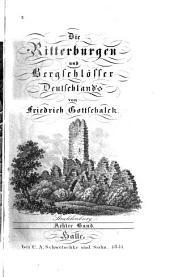 Die Ritterburgen und Bergschlösser Deutschlands: Band 8