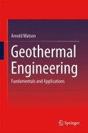Geothermal Engineering
