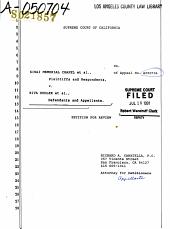 California  Supreme Court  Records and Briefs PDF
