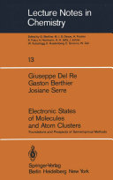 Electronic States of Molecules and Atom Clusters