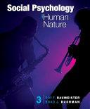 Social Psychology and Human Nature  Comprehensive Edition PDF