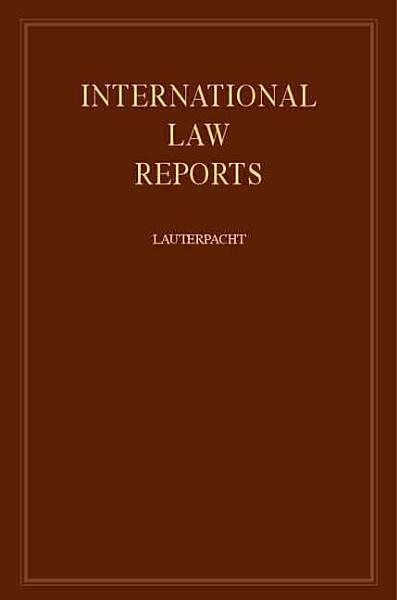 Download International Law Reports Book