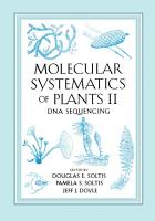 Molecular Systematics of Plants II PDF