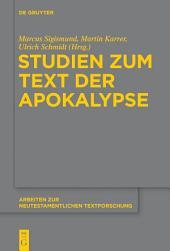 Studien zum Text der Apokalypse