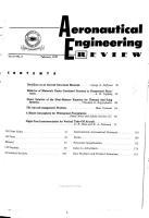 Aeronautical Engineering Review PDF