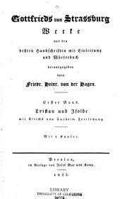 Bd. Tristan und Isolde mit Ulrichs von Turheim Fortsetzung