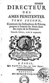 Le directeur des âmes pénitentes,... ou Décisions de plusieurs questions importantes sur la pratique du sacrement de pénitence,... par le P. G. Vauge