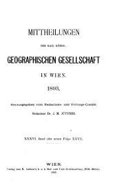 Mitteilungen: Band 36
