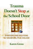 Trauma Doesn t Stop at the School Door PDF