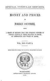 Special Consular Reports: Volume 13