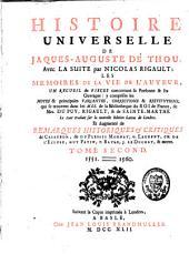 Histoire universelle: le tout traduit sur la nouvelle édition latine de Londres, Volume2
