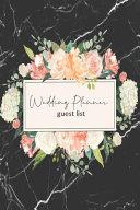 Wedding Planner Guest List PDF