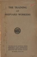 The Training of Shipyard Workers PDF