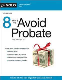 8 Ways to Avoid Probate Book
