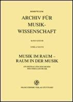 Musik Im Raum Raum In Der Musik