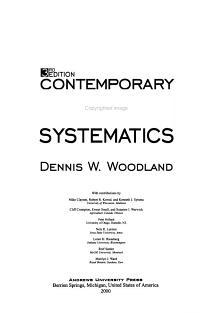 Contemporary Plant Systematics PDF