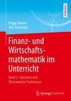 Finanz  und Wirtschaftsmathematik im Unterricht Band 2 PDF