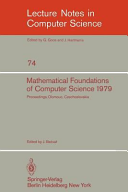 Mathematical Foundations of Computer Science 1979