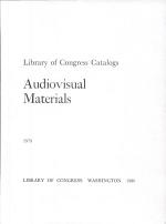 Audiovisual Materials