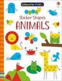 Sticker Shapes Animals X5