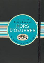 Little Black Book of Hors D'Oevure