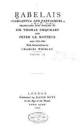 Gargantua and Pantagruel: Volumes 4-5