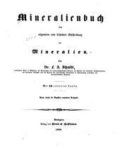 Mineralienbuch: oder allgemeine und besondere Beschreibung der Mineralien
