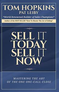 Sell It Today  Sell It Now Book