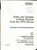 Public Use Samples of Basic Records from the 1970 Census
