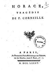 Horace, tragedie de P. Corneille