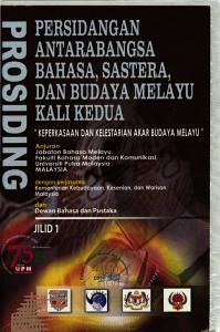 Prosiding Persidangan Antarabangsa Bahasa  Sastera  dan Budaya Melayu Kali Kedua PDF