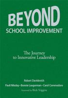 Beyond School Improvement PDF
