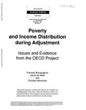 Poverty and Income Distribution During Adjustment: Issues and Evidence from the OECD Project