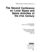 The Second Conference on Lunar Bases and Space Activities of the 21st Century