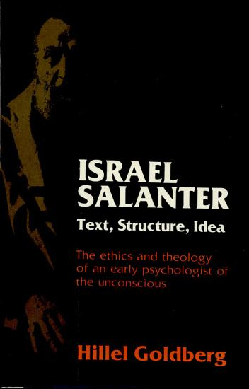 Israel Salanter  Text  Structure  Idea PDF