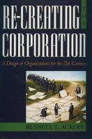 Re creating the Corporation PDF