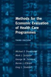 Methods for the Economic Evaluation of Health Care Programmes PDF