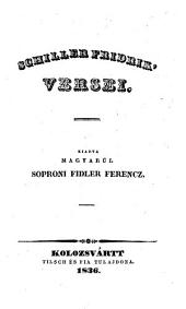 Versei. Kiadta Magyarul Soproni Fidler Ferencz (Gedichte)
