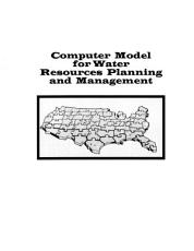 Computer Models for Water Resources Planning and Management PDF