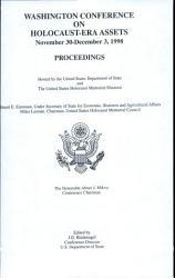 Washington Conference On Holocaust Era Assets November 30 December 3 1998 Book PDF