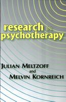Research in Psychotherapy PDF